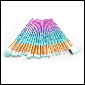 NEW 20pc Diamond Pro Makeup Brush Set